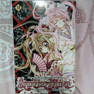 SakuraHime Vol. 11 (The legend of princess Sakura)