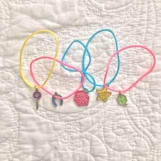Kids' Total Girl Charm Bracelet Set