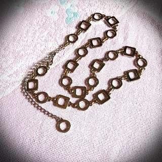 Two Tone Chain Belt