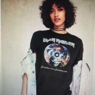 Iron Maiden Tee From Urban Outfitters