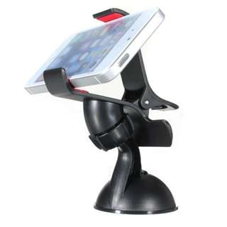 360 Degree Rotating Sucker Mobile Phone Holder Smart Stand / Car Accessories