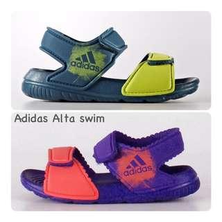 保證正品✨ adidas 愛迪達 小童 防水 輕量 學步 涼鞋 alta swim