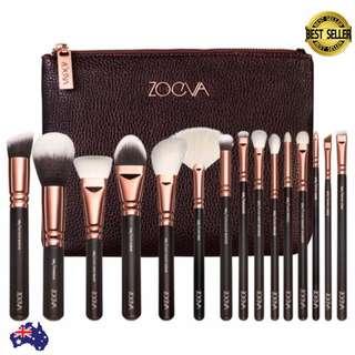 [Pre-order] ZOEVA 15pcs Rose Golden Makeup Brushes Set