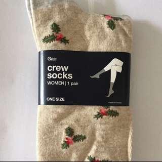 Gap Crew Socks 1 Pair