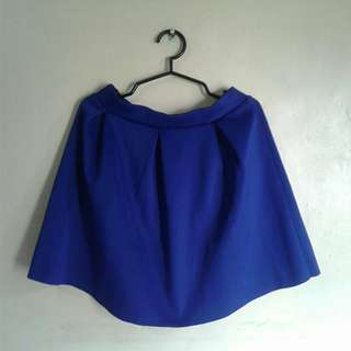 DIVIDED by H&M blue skirt