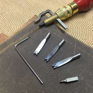 Leather Edge Grover Plus Beveler With Guide