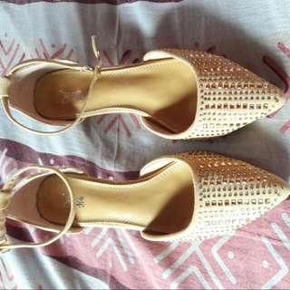H2ocean URIELA Gold Sandals