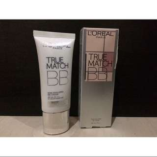L'Oreal true match bb (N1 ivory)