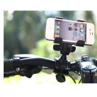 360 Degree Bike Mount Grip Bike Bicycle Mobile Smart Phone Rotating Holder Stand / Car Accessories