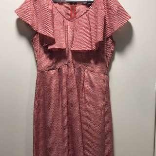 Hip Culture Ruffled dress