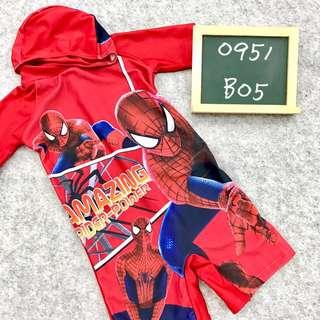 (Nett Price) Spiderman Swimsuit with Swimming cap
