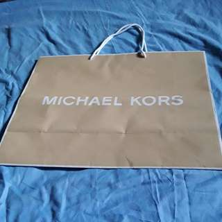MICHAEL KORS PAPER BAG #614