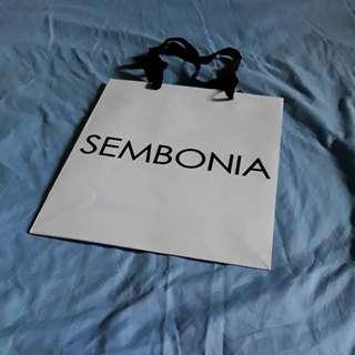 SEMBONIA PAPER BAG #611