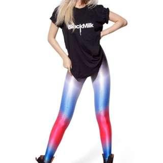 Black Milk Dip Dye Leggings