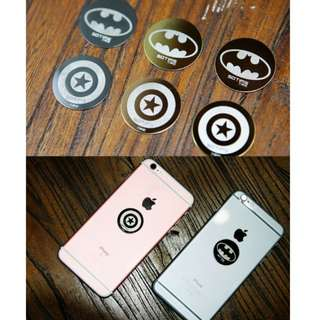 3D Superhero Design Magnetic Disc Plate for 360 Degree Magnetic Phone Holder / UF-X / Steelie Smart Stand / Car Accessories