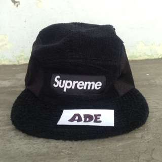 Supreme Terry Mesh Side Panel Camp Cap