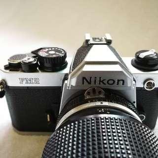 NIKON FM2 機械底片相機