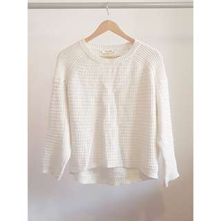Miss Shop White Knit