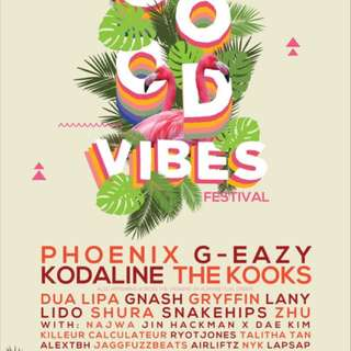 URGENTLY- Good vibes Festival (2 Day Pass)