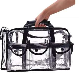 To-Go Plastic Material Baby Bag / Beach Bag / Makeup Bag