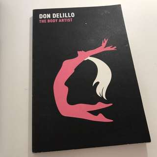 #TheBodyArtist By #DonDelillo