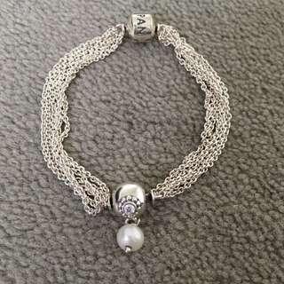 Pandora Chain Bracelet With Charm