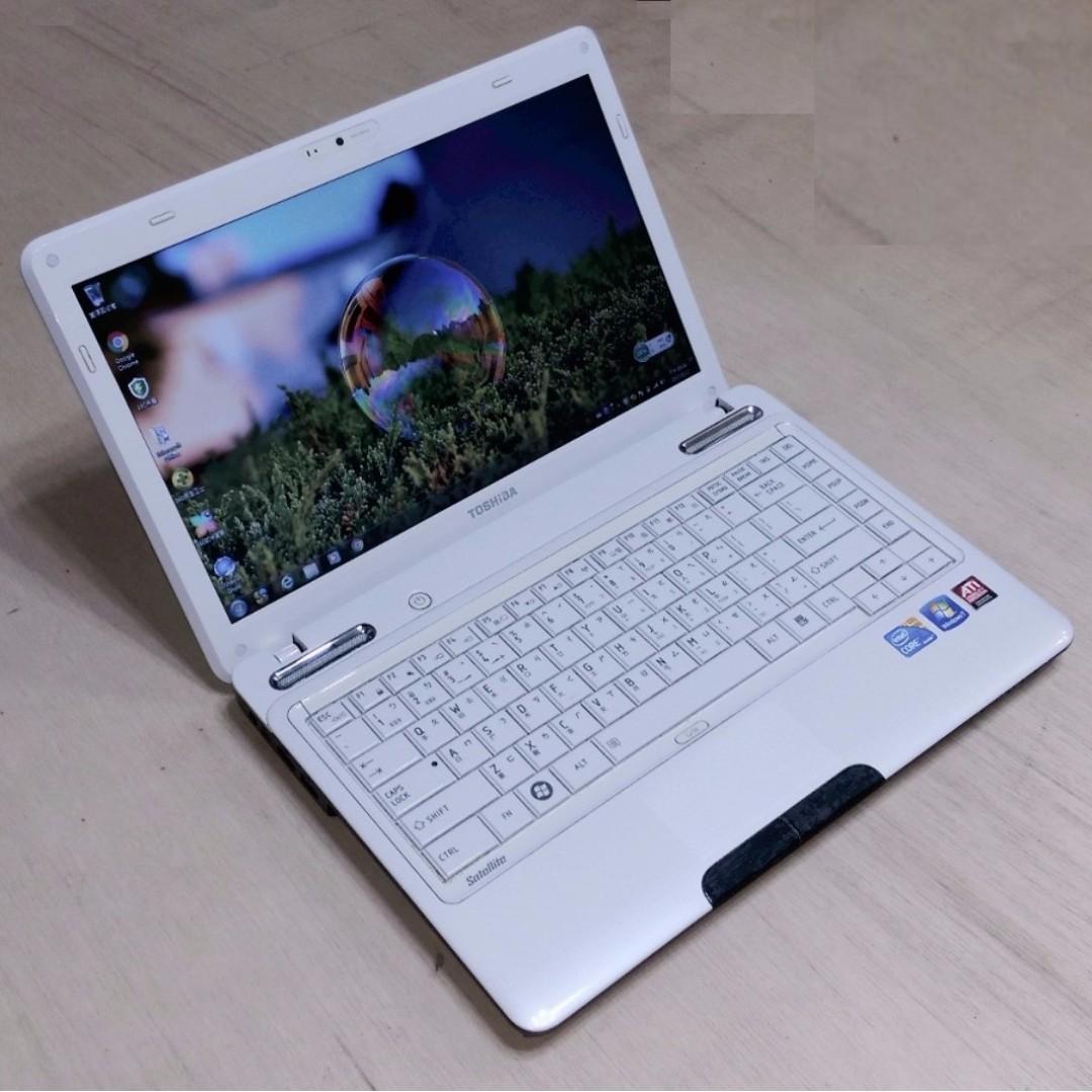13.3吋 TOSHIBA L630 i5-M460 / ATI 獨顯 WXGA 高亮度 LED 鏡面寬螢幕 筆電 !!