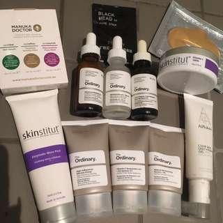 Skin Care Bundle. The Ordinary/skinstitut