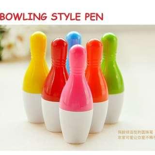 Cute Bowling Style Design Extendable Telescopic Pen