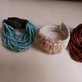 gelang 3 pcs.. take all only 40rb