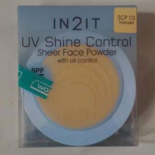 In2It UV Shine Control Sheer Face Powder