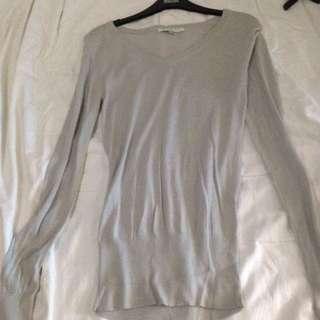 """private Label"" Grey Sweater"