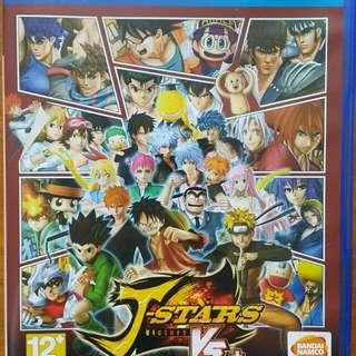 【PS4】繁中 J-STARS Victory VS+(J群星 勝利對決+)