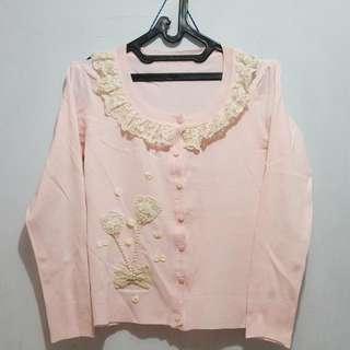 Pink Korea/Japan Cardigan