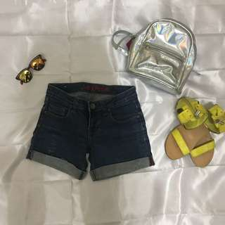 Short Pants From Logo Jeans