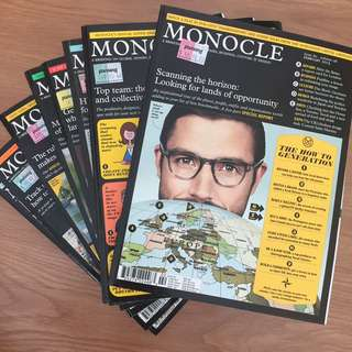 Monocle Issues 53-60