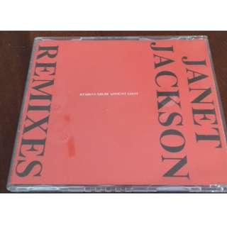 Janet Jackson The Remixes USA Promo sampler CD single rare