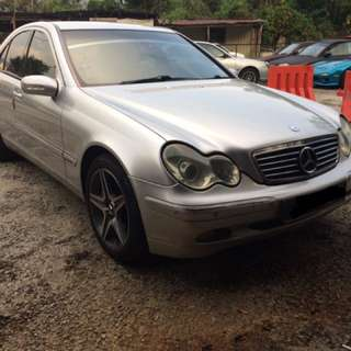 Mercedes Benz C200 Kompressor 1.8