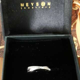 Meyson's Wedding Band For HER (White Gold)