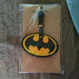 Luggage Tag Bag Tag Batman The Dark Knight Bat Man Begins