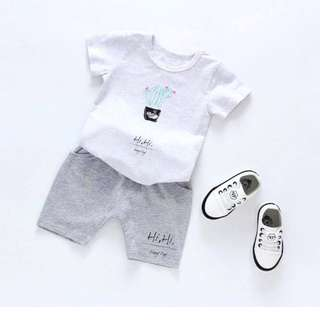 Lil'Beau baby kids clothes boy suit terno 1-7yrs old 72037