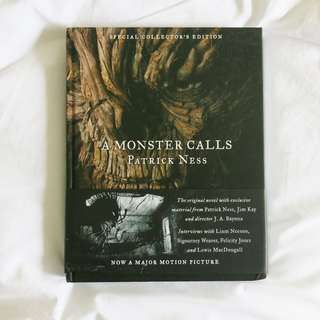 ⌜ special collectors edition ⌟ A Monster Calls by Patrick Ness