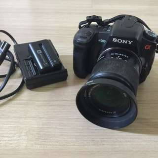 HOT!! Sony A300 With Lens + Battery + Charger + Compact Flash 4Gb