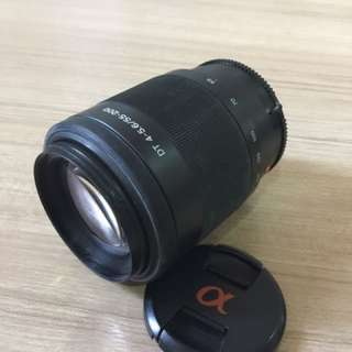 HOT! Sony SAL-55200 55-200mm f/4-5.6 DT Autofocus Lens (Excellent Condition)