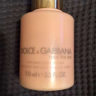 Dolce & Gabana 100ml Lotion