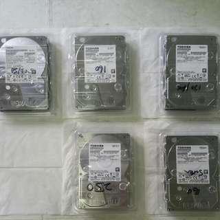 """3.5"""" Toshiba 3TB HDD"""