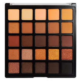 【愛來客 】美國Morphe 25A - COPPER SPICE EYESHADOW PALETTE 25色眼影盤