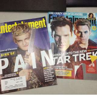 Entertainment magazines (22 issues)