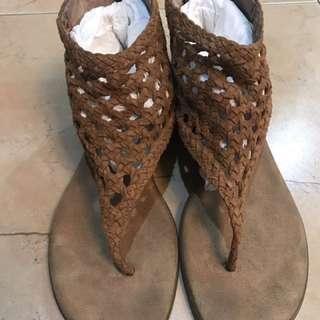 Aerosole Sandals In Brown