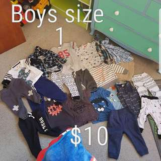 Bulk Lot Boys Clothes